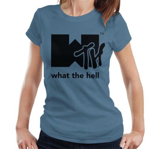 What The Hell MTV Logo Women's T-Shirt