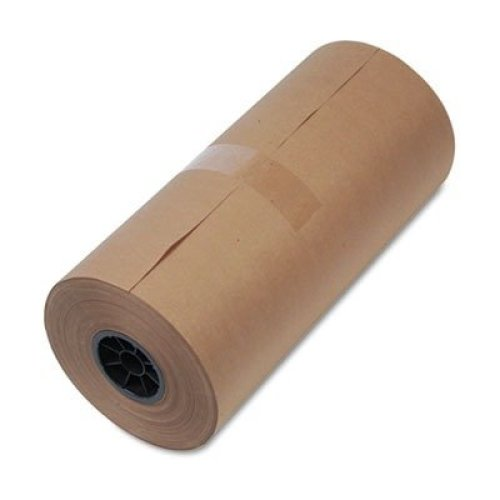 United Facility Supply 1300015 40 Lb mediumweight 9 dia brown kraft wrapping paper roll 18w x 900 ft