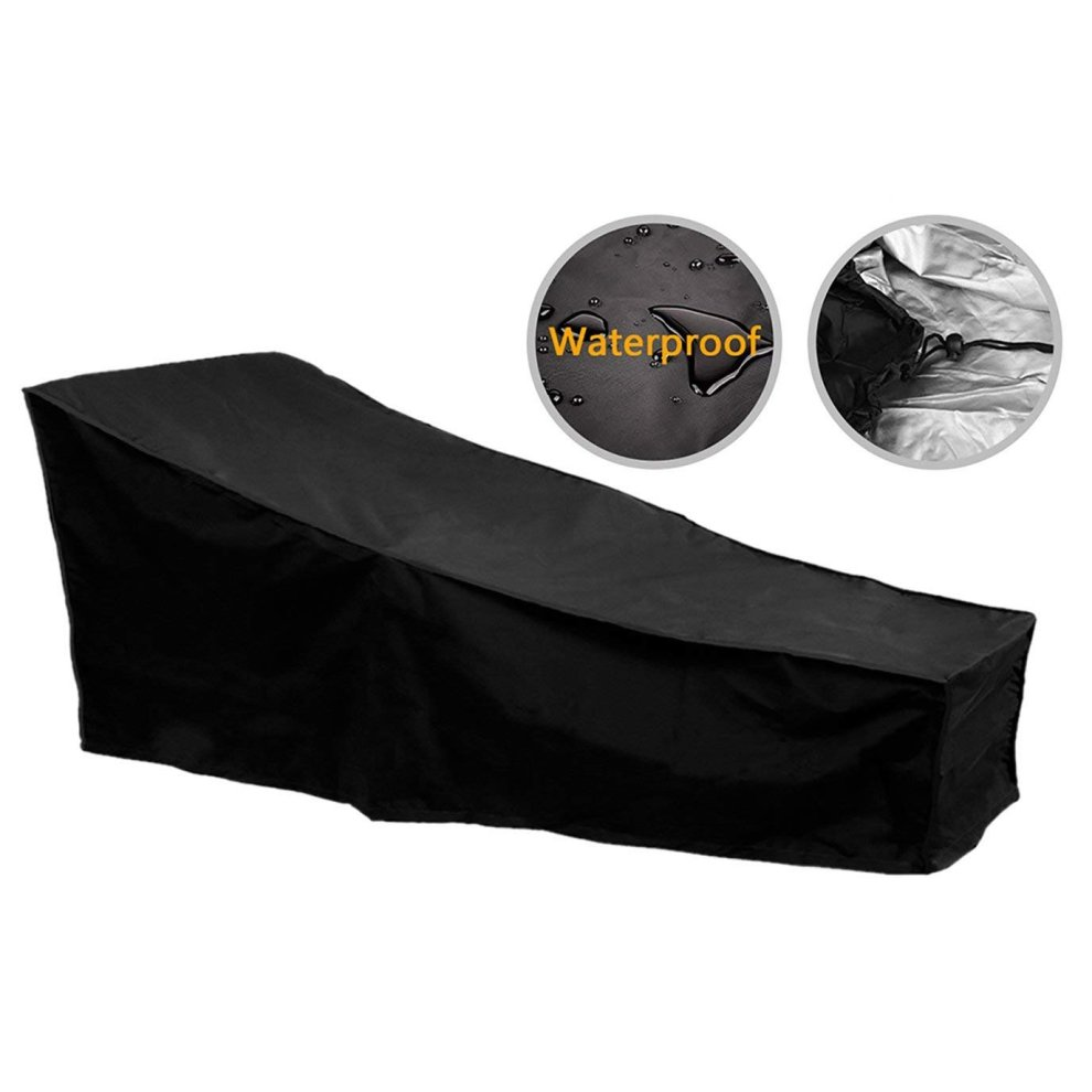 A505 Black Bosmere Furniture Cover Tall Water Shedding Pole