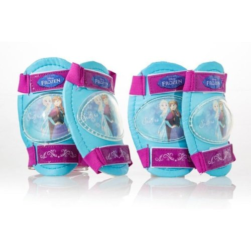 Dino Disney Frozen Knee & Elbow Pads | Kids' Frozen Protective Pads Set