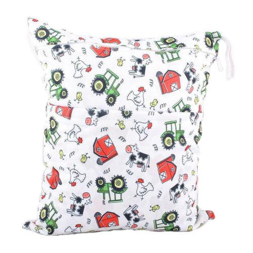 "Funny Chicken Wet Bags Waterproof Diaper Bag Multi-function Nappy Bag-14""*11"""