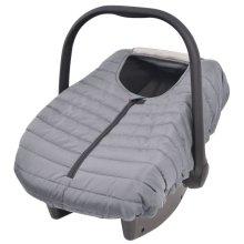 vidaXL Baby Carrier/Car Seat Cover 57x43 cm Grey