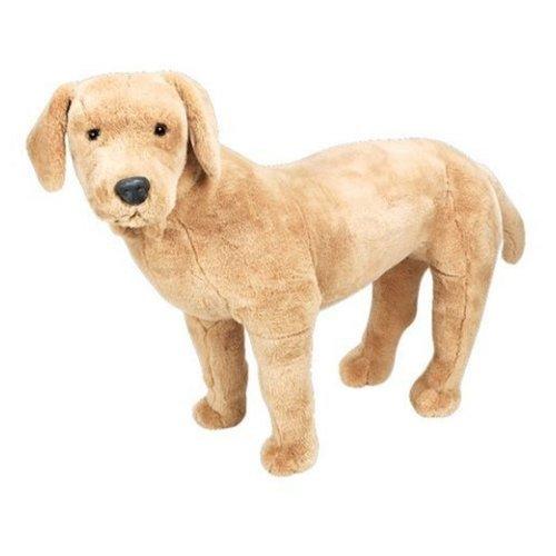 Melissa & Doug Giant Yellow Labrador - Lifelike Stuffed Animal Dog (nearly 2 feet tall)