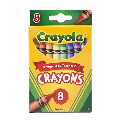 Crayola Crayons 8 Count Case of 48
