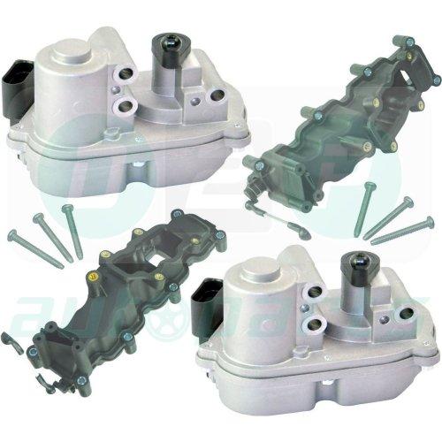 2x INTAKE MANIFOLD & ACTUATOR FOR VW TOUAREG PHAETON 3.0 TDI 059129086D/711/712