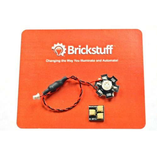 Brickstuff High-Power Ultraviolet LED for the Brickstuff LEGO Lighting System - LEAF01H-UV-1PK