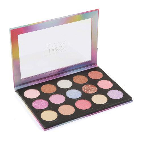 (Sherbet Kisses - Highlighter) LaRoc 15-Colour Cocktail Collection Palette
