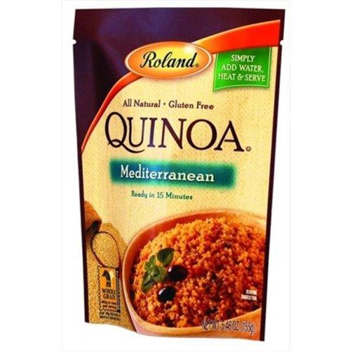 Roland Mediterranean Quinoa 5.46 Oz -Pack of 6