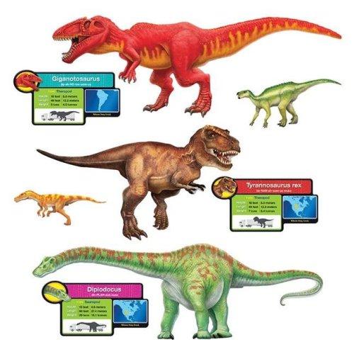 Trend Enterprises T-8294BN Discovering Dinosaurs Bulletin Board Set - Set of 2