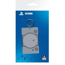 Playstation - PS1 Console Rubber Keyring