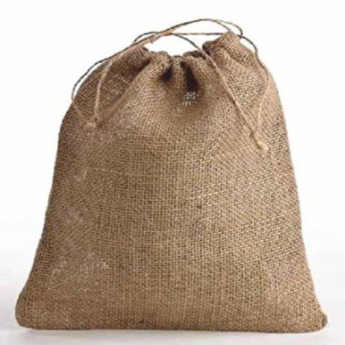 Jute/Hessian Drawstring Bags