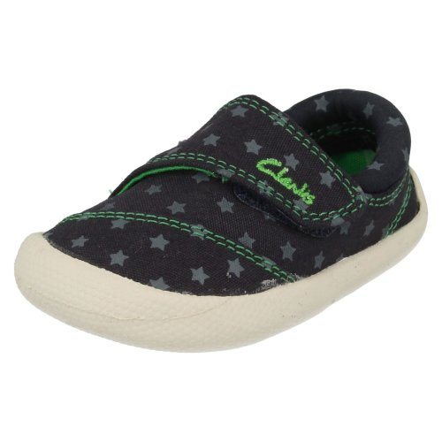 Infant Boys Clarks Doodles Choc Cookie - F Fit