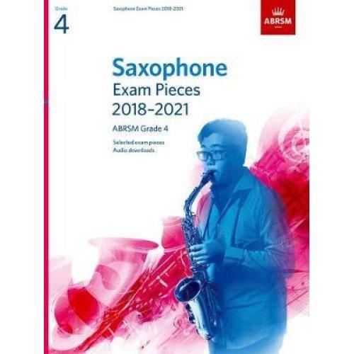 Saxophone Exam Pieces 2018-2021, ABRSM Grade 4