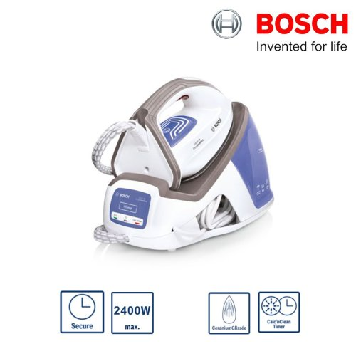Bosch TDS4040GB Serie 4 EasyComfort Steam Generator Iron 2400W 1.3L Water Tank