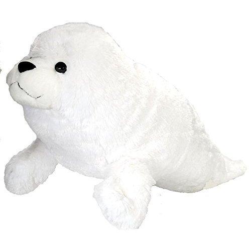 Wild Republic Cuddlekins Jumbo Seal Harp Pup Plush