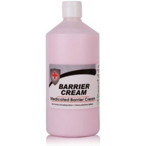 Clover Barrier Cream 750ml Medicated Hand Protection Work Wet Dry