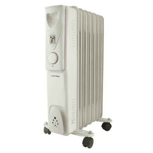 Lloytron Stay Warm 7 Fin Oil Radiator 1500 W - White (Model No. F2602GR)