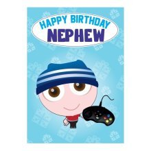 Birthday Card - Nephew