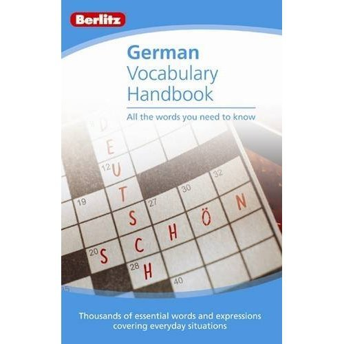 Berlitz Language: German Vocabulary Handbook (Berlitz Vocabulary Handbook)