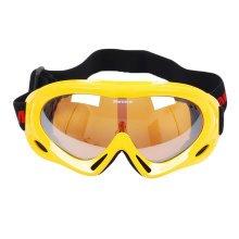 Snow Goggles Windproof Eyewear Ski Sports Goggle Protective Glasses Yellow