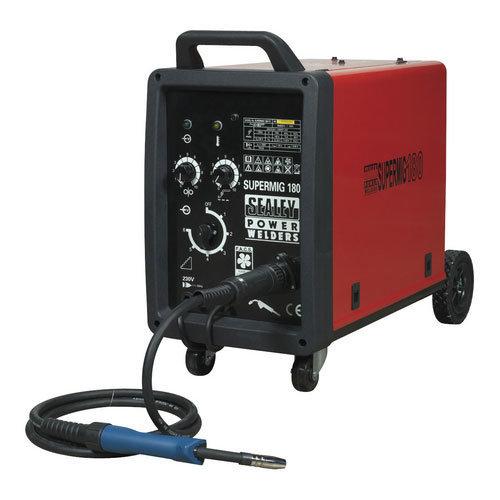 Sealey SUPERMIG180 180Amp Professional MIG Welder with Binzel Euro Torch