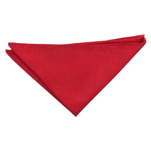 Red Suede Pocket Square