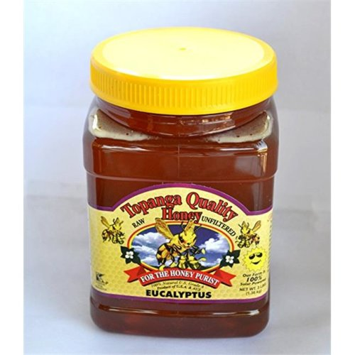 Topanga Quality Honey BCA48095 12 x 16 oz Wild Flower Honey