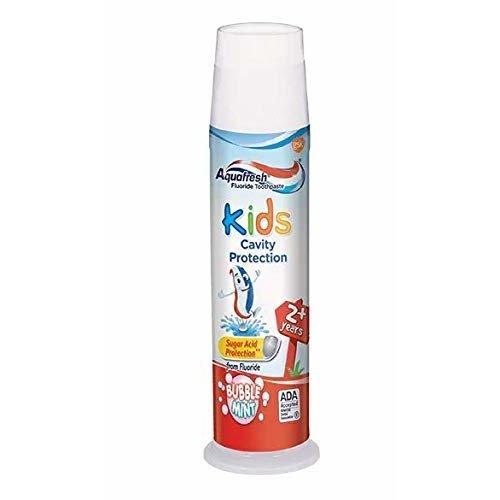 Aquafresh Kids Fluoride Toothpaste with Triple Protection Bubblemint 4 6 oz 130 4 g