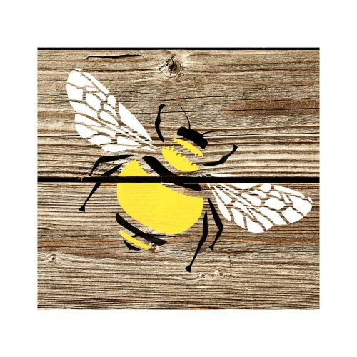 Bumble Bee Furniture Floor Wall Stencil for Painting