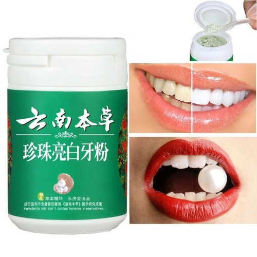 Yunnan Ben Cao Natural Pearl Teeth Whitening Powder Oral Hygiene Tooth Care