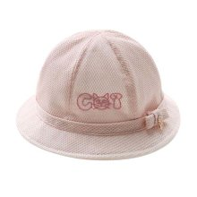 Lovely Sunhat Great Gift Foldable Beach Hat Summer Hat Cotton Hat Baby Cap Pink