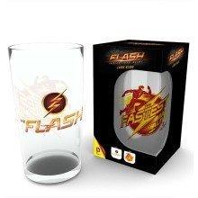 The Flash Logo Pint Glass