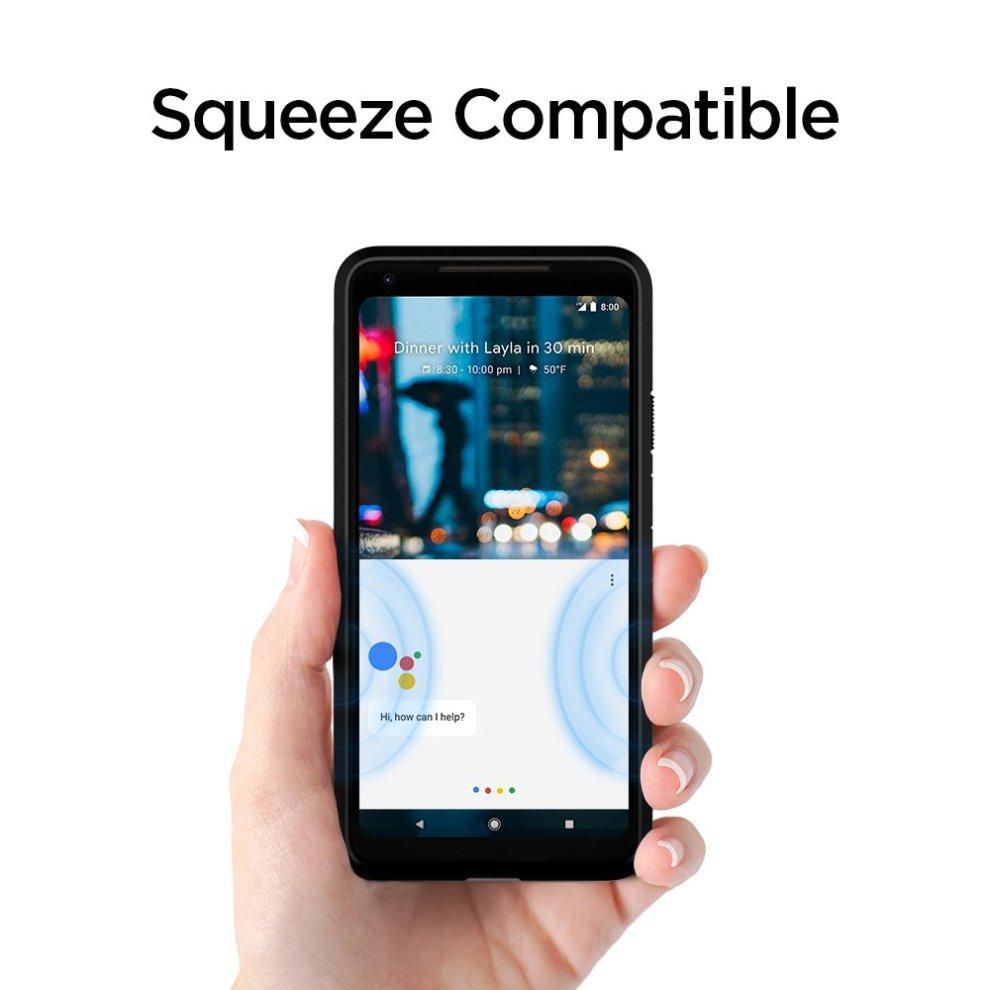 brand new 67626 7dcb1 Google Pixel 2 XL Case, Spigen [Slim Armor CS] [Black] Slim Dual Layer  Wallet Design and Card Slot Holder Phone Case Cover for Pixel 2 XL (2017)  -...