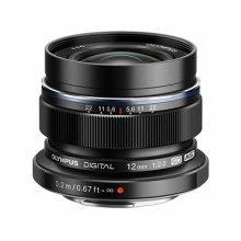 Olympus M.ZUIKO DIGITAL ED 12mm Lens - Black