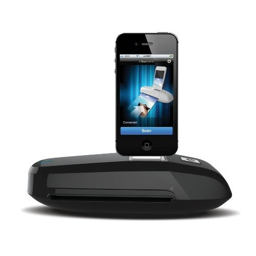 Mustek S600i Black iPhone iPod 30 Pin Connector Docking Scanner