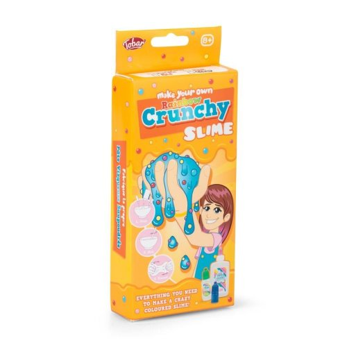 Make Your Own Rainbow Crunchy Slime
