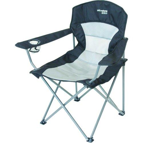 Yellowstone Ashford Executive Folding Chair (Black)