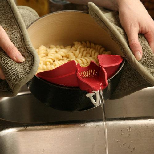 Vegetables Food Control Drain Device Strainer Debris Filter Kitchen Gadget Utility