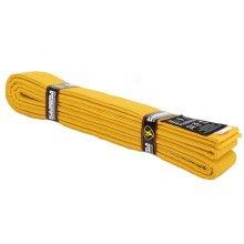 Premium Cotton Martial Arts Belt Taekwondo Uniform Ranking Belts - Yellow
