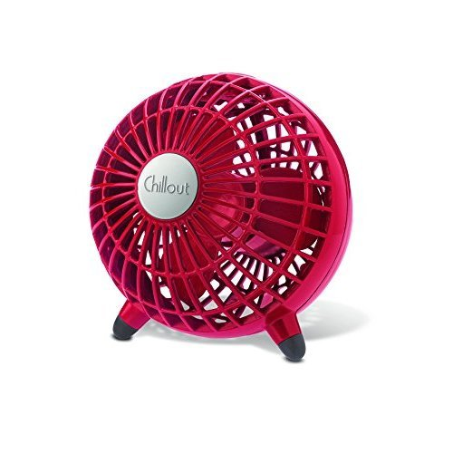 Kaz Chillout USB Fan Red