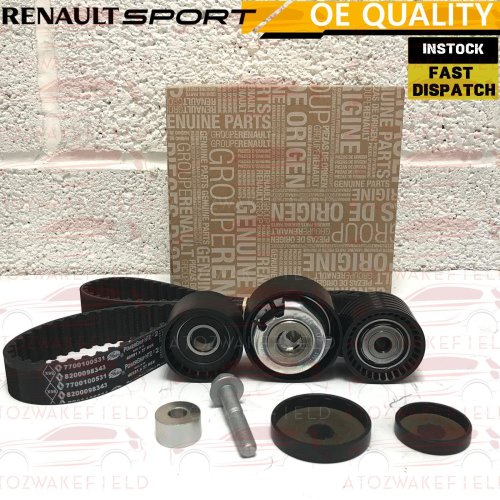 FOR RENAULT CLIO SPORT 2.0 172 182 GENUINE TIMING BELT KIT PULLEY TENSIONER
