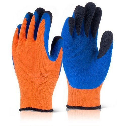 Click BF3OR08 Thermo-Star Fully Dipped Thermal Gloves Orange Size 8
