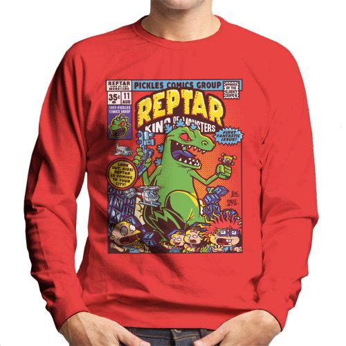 Reptar King Of Monsters Rugrats Men's Sweatshirt