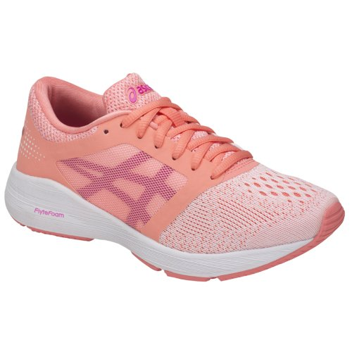 Asics RoadHawk FF Gs C743N-0620 Kids Pink running shoes