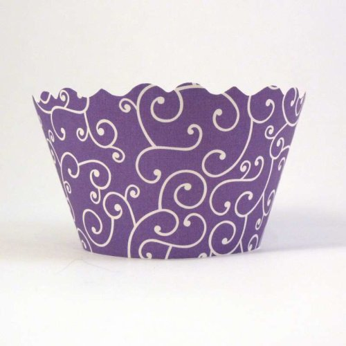 Swift Olivia Lavender Cupcake Wrapper, Pack of 12