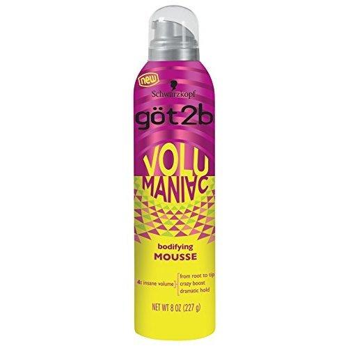 Got 2B Volumaniac Mousse 8 Ounce (236ml) (2 Pack)