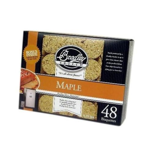 Bradley Smoker Maple Bisquettes 48 pack