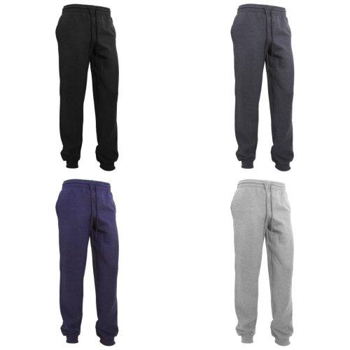 Gildan Mens Heavy Blend Cuffed Jogging Bottoms/Sweatpants