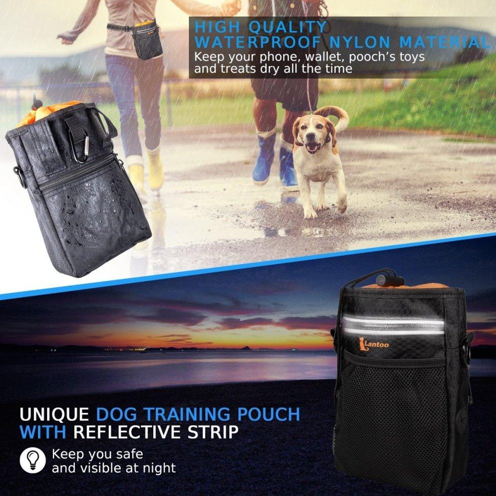 2ceb1e2737 ... lanktoo Dog Treat Bag with Poop Bag Holder
