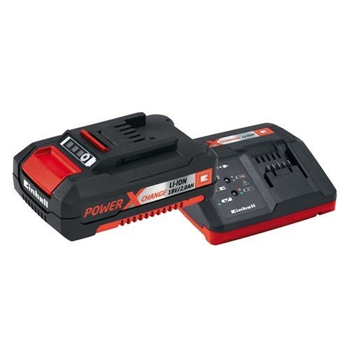Einhell EINPXSTKIT2 Power X-Change Battery & Charger Starter Kit 18 Volt 1 x 2.0Ah Li-Ion